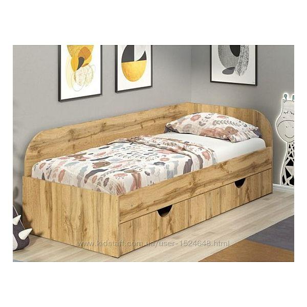 Детская и подростковая кровать с ящиком для белья Соня-2. Одинарная кровать