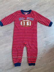 Флисовый человечек слип пижама Carters для мальчика