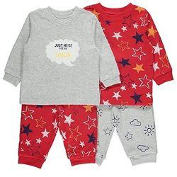 Пижамы George для деток на рост 86-92 92-98.