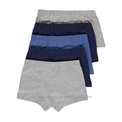 Трусы шорты George для мальчиков от 2 до 14 лет