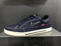 Кеди Найк Nike джинсовие, розміри 40-44 підошва по кругу прошита
