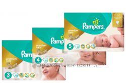 Pampers Premium Care подгузник пампрес премиум