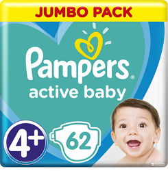 Pampers Active Baby ассортимент