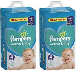 Pampers Active Baby Mega Pack Памперсы, подгузники