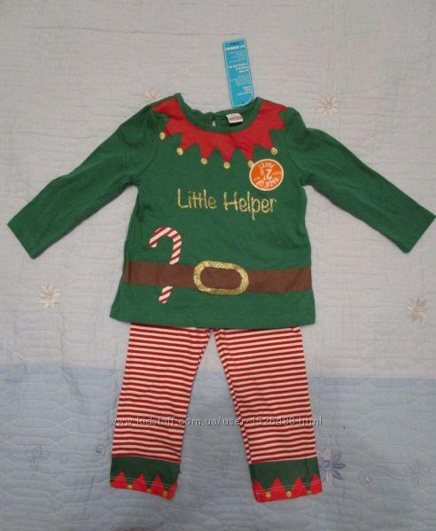 Новогодний костюмчик - пижамка LC Waikiki на 6 - 12 мес