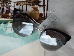 Очки красивая модель Италия зеркальные Дымчатое стекло