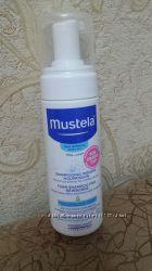 Mustela shampooing mousse nourrisson. Мустела для новорожденных от себореи