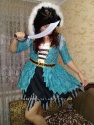 карнавальный костюм Пиратки взрослый .
