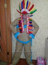 Карнавальный костюм Индейца. взрослый .