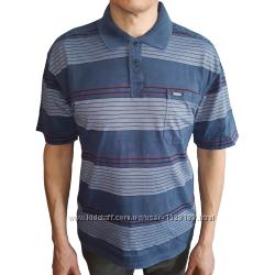 Хлопковая мужская рубашка с коротким рукавом