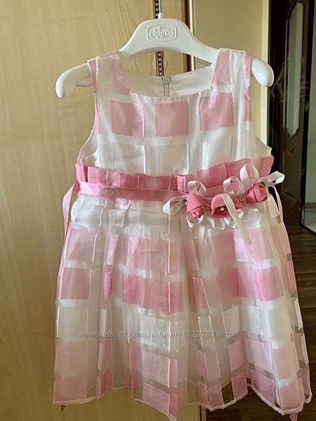 Платье Monnalisa Blumarine 24 мес