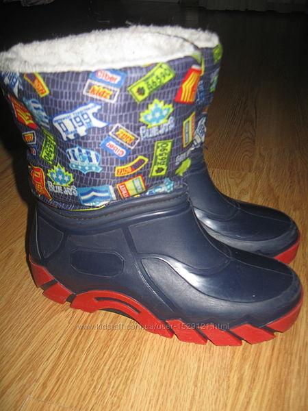 Демосезонні чобітки tino встілка 21см
