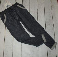 Спортивные стильные штаны на девочку 12-13 лет