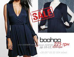 Распродажа - boohoo - Платье с оригинальными рукавами - р10-12 M-L 46-48