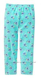 Теплые штаны-пижамка для девочки флисовые домашние оригинал Crazy8, 5-6 лет