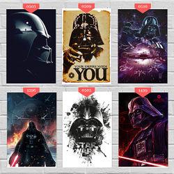 Плакаты, постеры по Star Wars, Звездные войны, Вейдер, Скайуокер