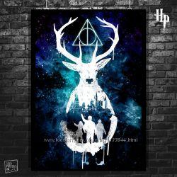 Плакаты Гарри Поттер, Harry Potter, Хогвартс, Гермиона, Рон Уизли