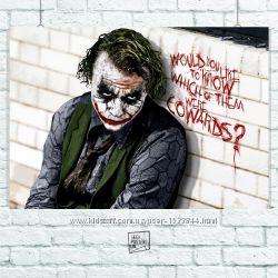 Плакаты Бэтмен, Джокер, Харли Квин