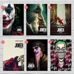 Плакаты Джокер, Харли Квин, Супермен, Бэтмен, герои DC