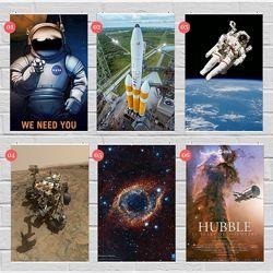 Плакаты NASA, космос, планеты, Марс, Земля, спутник, астрономия