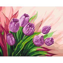 Картина по номерам Персидские тюльпаны арт.2924 Идейка
