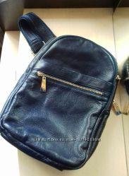 Удобный, качественный, кожаный рюкзак фирмы Be First