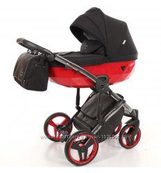 Дитяча коляска 2 в 1 Tako Junama Diamond S-line red