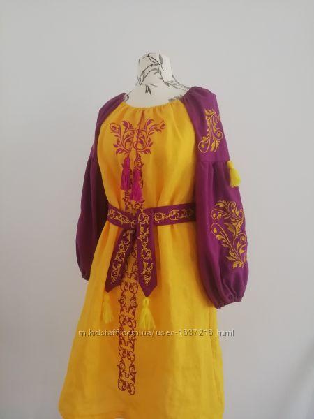 Вишиванка сукня