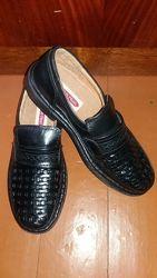 Мужские туфли кожаные фирмы Enrico Mori Handmade 29 см