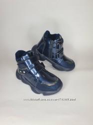 Демисезонные ботинки на девочку в размерах 27-32