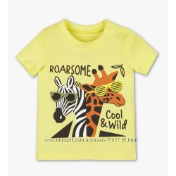 Летние футболки от бренда C&A для малышей
