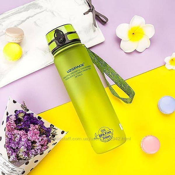 Бутылка UZSPACE 500 мл Оригинал Зеленый цвет