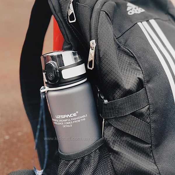 Бутылка UZSPACE 500 мл Оригинал Серый цвет