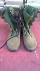 Армейские ботинки,  37 размер с высоким берцем ВС Голандии.