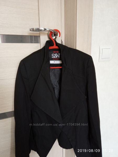 Пиджак черный в школу