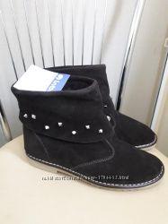 39 р. Inblu.  Новые замшевые демисезоннные ботинки