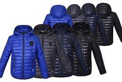 Демисезонная куртка Порш для мальчика от 5 до 14 лет разные цвета
