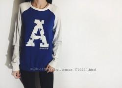 Женский свитшот Adidas адидас 40рр  оригинал синий