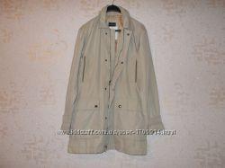 Новая стильная куртка курточка ветровка бежевого цвета размер XL 50-52