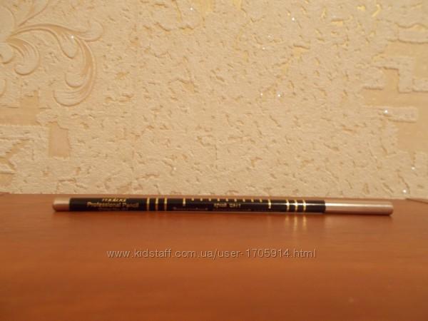 Malva cosmetics professional pencil карандаш для губ и глаз черного цвета