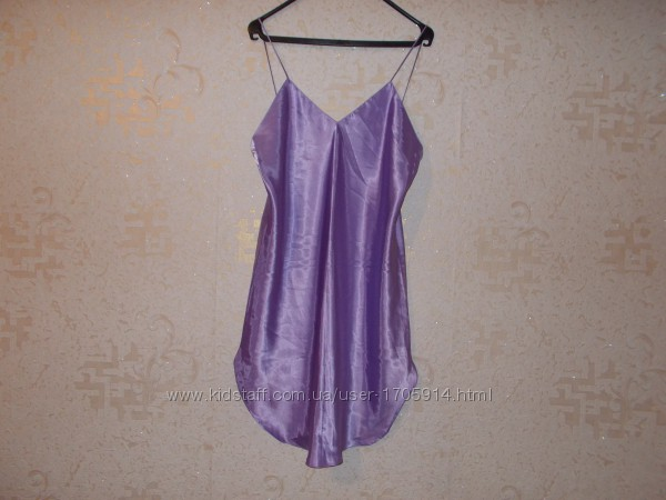 Ночная сорочка сиреневого цвета Размер 48-50