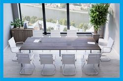 Тест стол для переговоров, конференций и совещаний