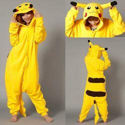Пижама Кигуруми Покемон Пикачу S на рост 148-158см