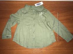 Стильная рубашечка Old Navy, размер 18-24 мес