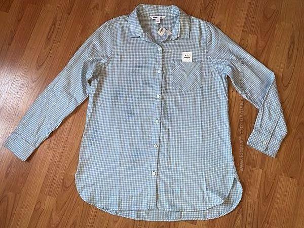 Брендовая рубашка-туника Old Navy, размер L