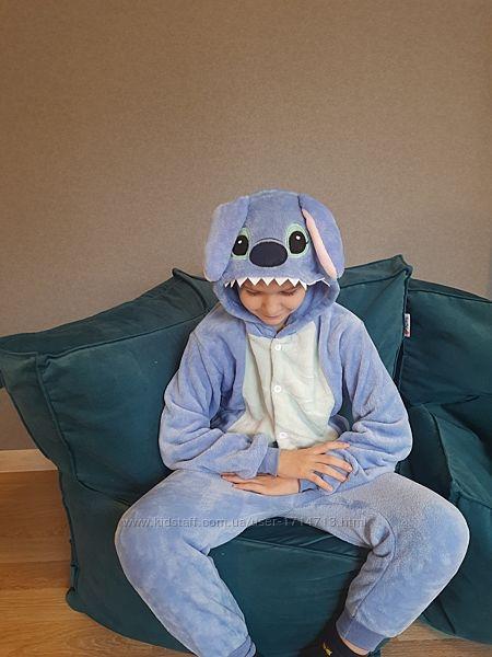 Кигуруми Стич синий детский / Кігурумі Стіч для дітей / кигуруми для детей