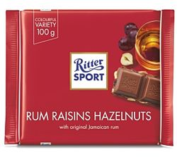 RITTER SPORT  Шоколад 100г