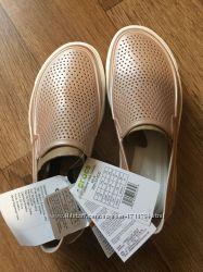 Слипоны кеды кроксы Crocs, оригинал W8, W9
