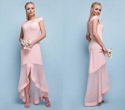Нежное вечернее нарядное платье, арт. 42169. Есть замеры. Размеры S-L