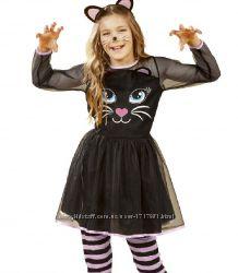 Карнавальный костюм 1-2 года Черная кошечка костюмированный праздник